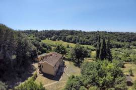 AncIent Farmhouse In Tuscany Immersed In olIve grove