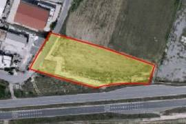 Large piece of industrial land is for sale in a very good area in Aradippou