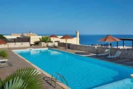 CRETE SEAFRONT APARTMENT, WITH AMAZING VIEWS CLOSE RETHYMNO